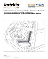 Seat Heater Installation Instructions