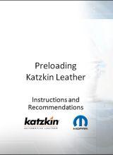 Katzkin :: Mopar Preload Recommendations