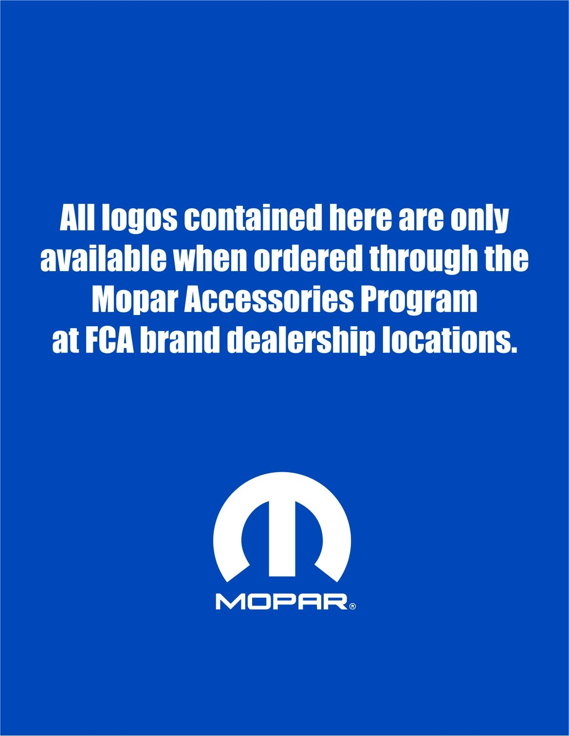 Mopar Program Logos