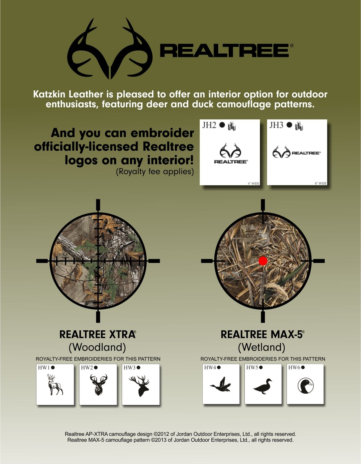 Realtree Sell Sheets