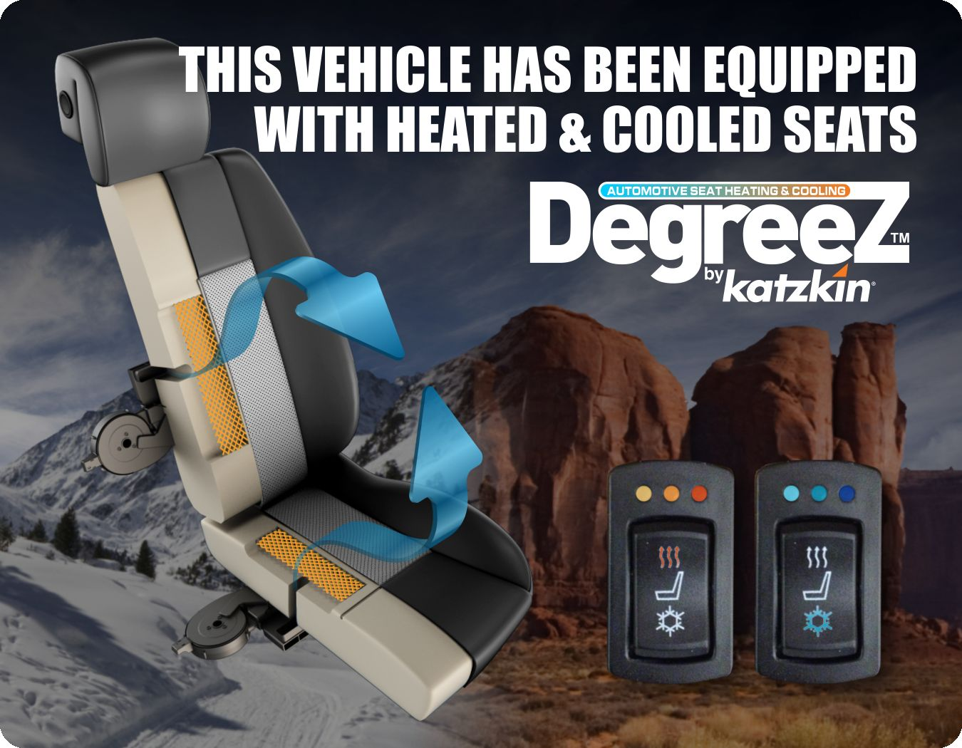 AddLabel Degreez (This Vehicle Is Equipped With Heated and Cooled Seats)