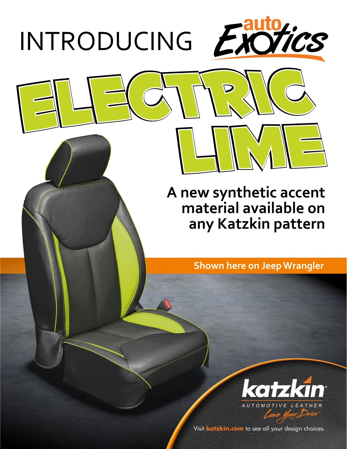 Electric Lime - Jeep Wrangler (e-Brochure)