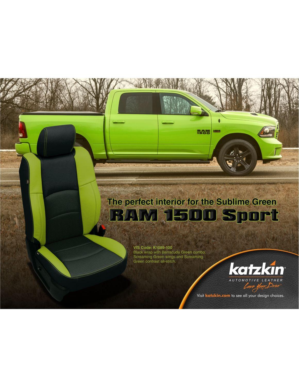 Sublime Green RAM 1500 Sport (eBrochure)
