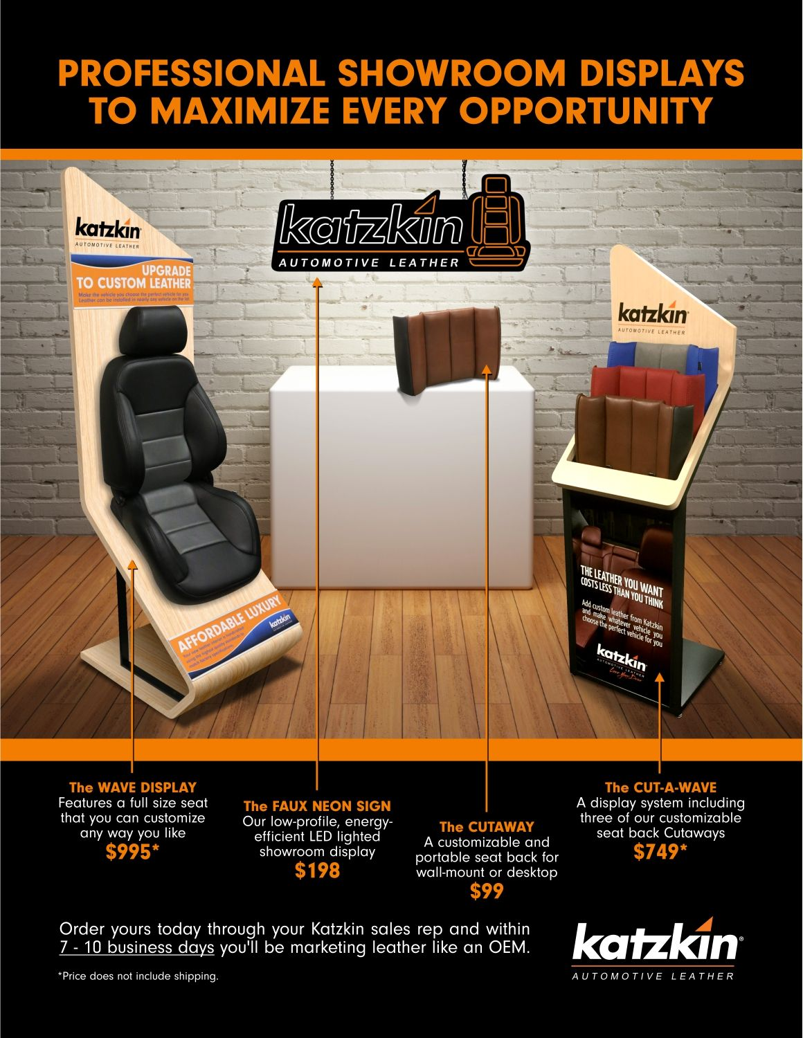 Showroom Display Sheet (eBrochure)