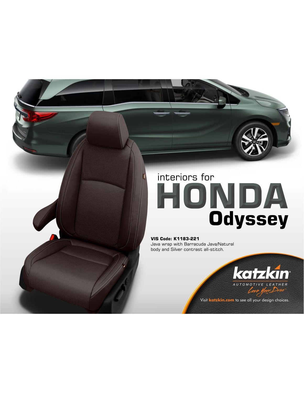 2018 Honda Odyssey EX (eBrochure)