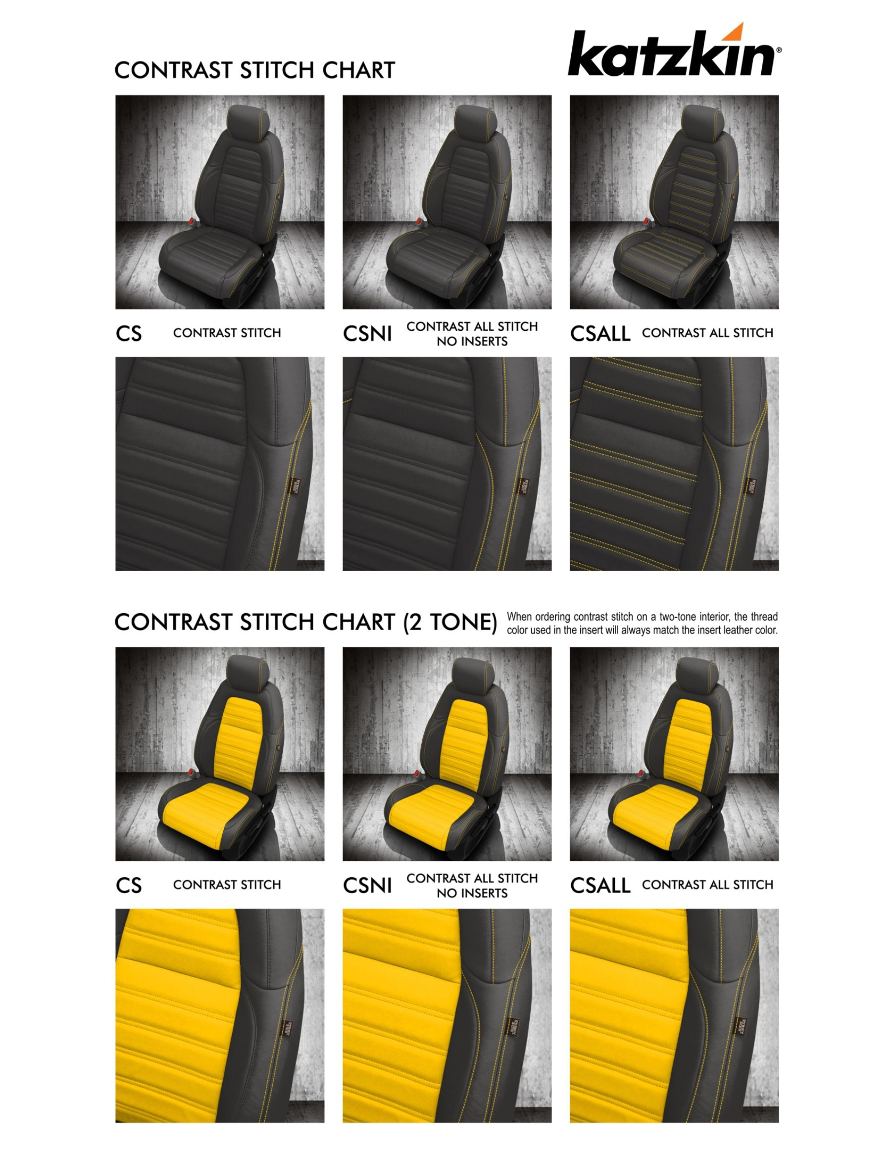 Contrast Stitch Explained