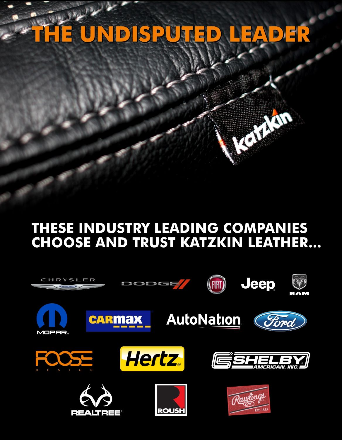 THE LEADER IN CUSTOM AUTOMOTIVE LEADER