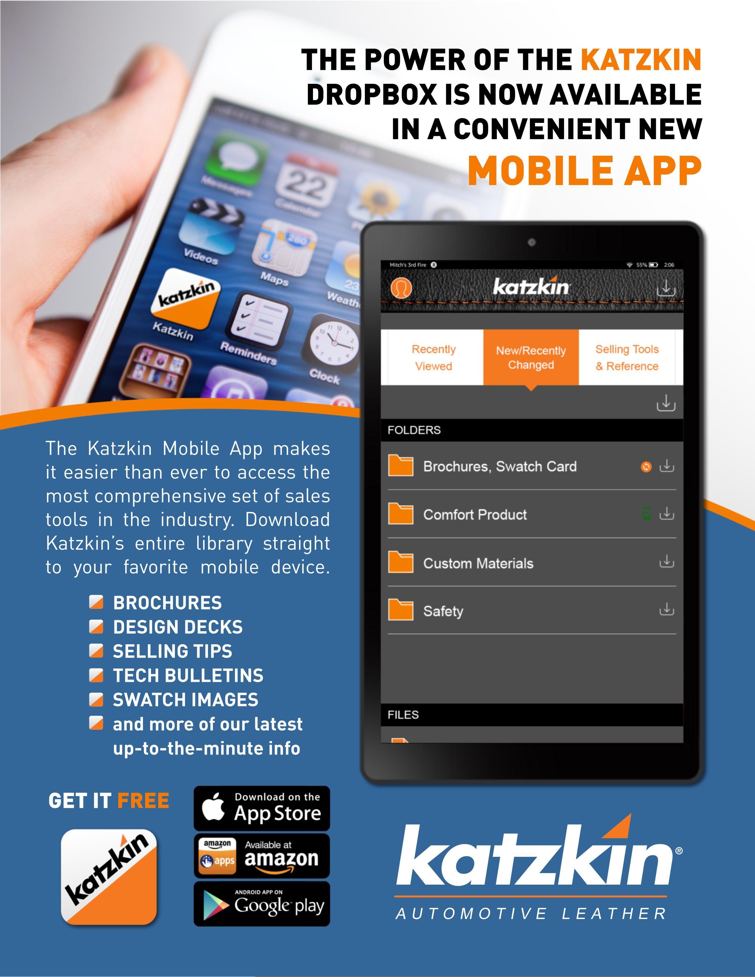 Katzkin App Announcement (eBrochure)