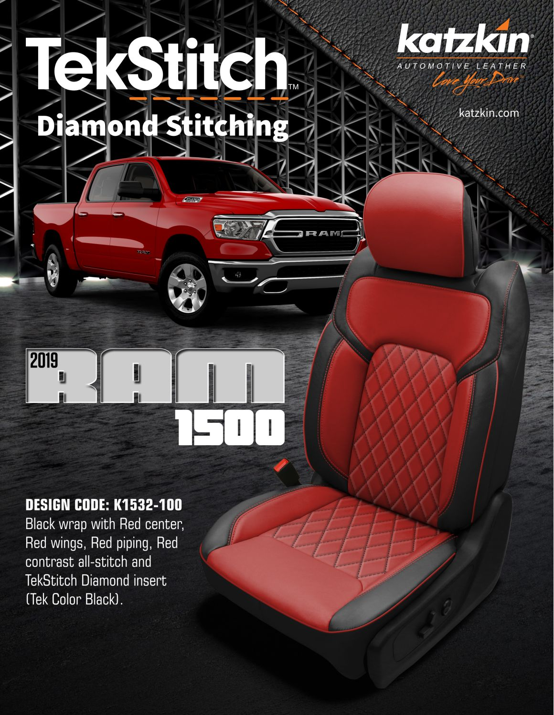 2019 Ram 1500 TekStitch Design (eBrochure)