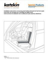 Seat Heater Installation Instructions