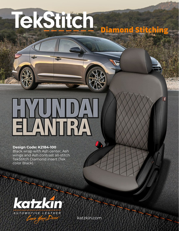 2019 Hyundai Elantra TekStitch