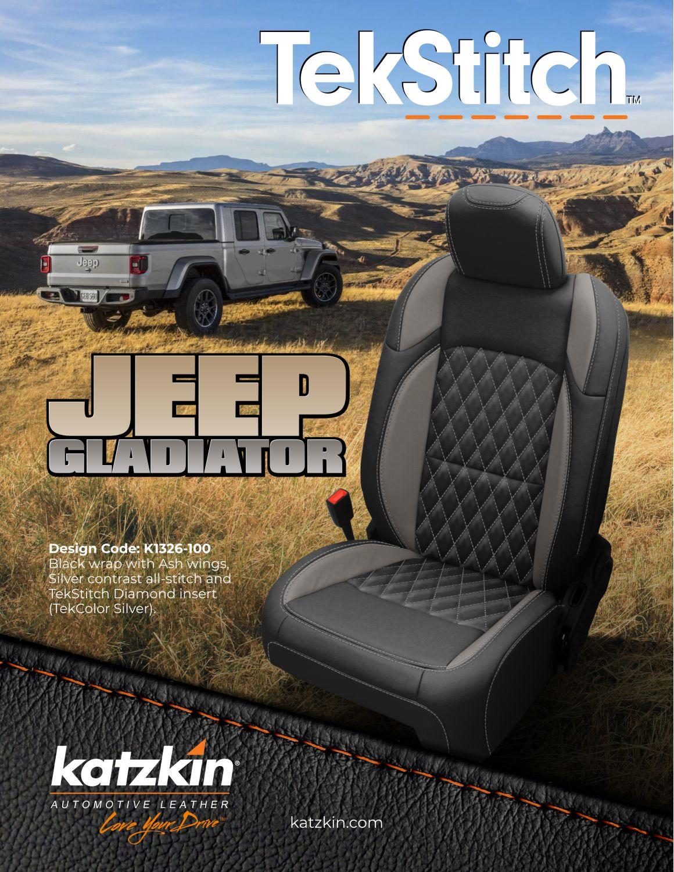2020 Jeep Gladiator TekStitch