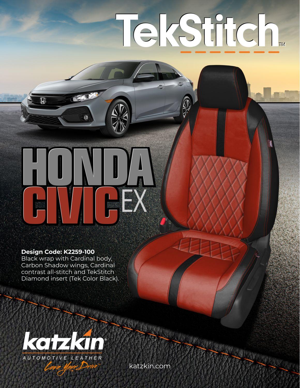 TekStitch 2019 Honda Civic Hatchback