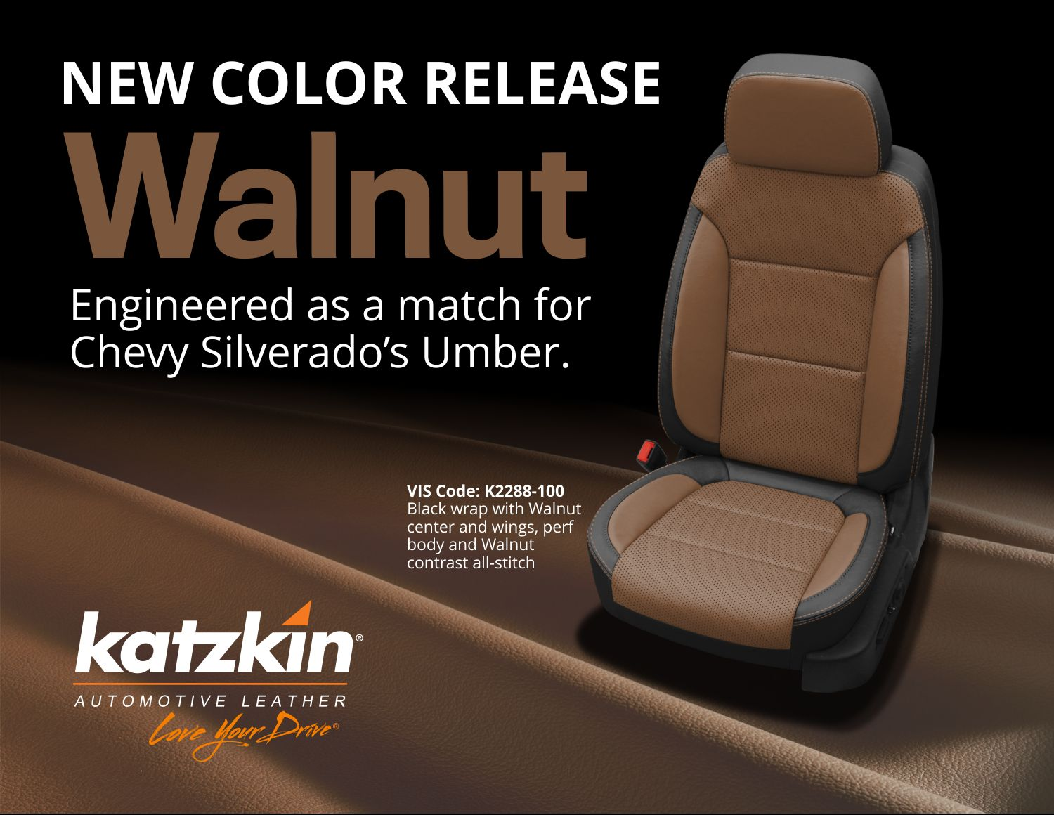 Walnut New Color