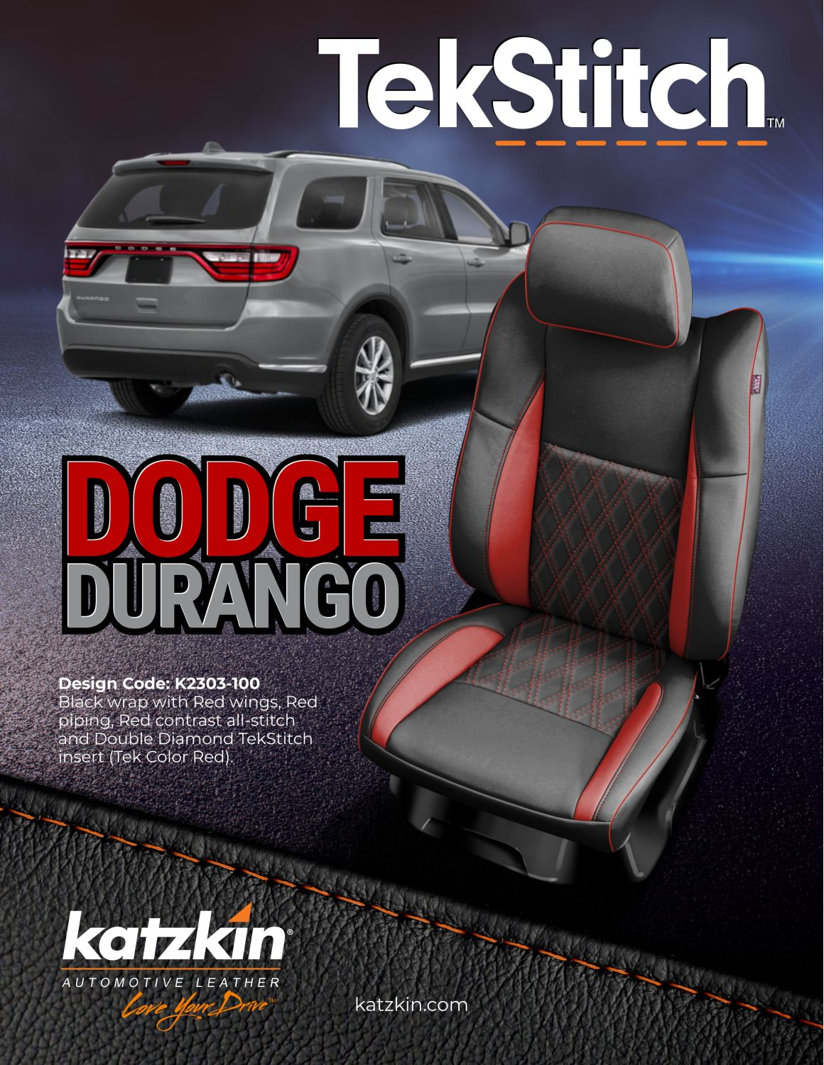 DODGE DURANGO TEKSTITCH