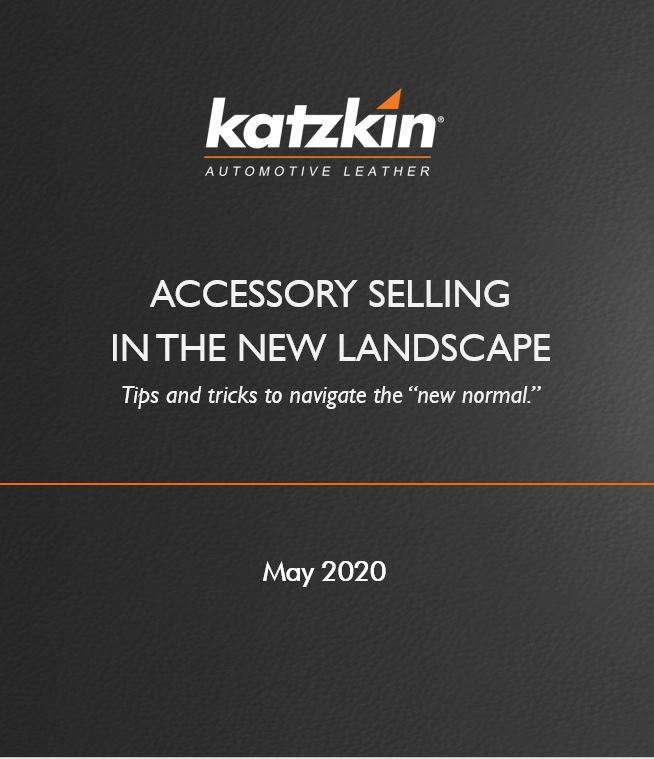 2020 Katzkin Accessory Selling in an E-Selling World