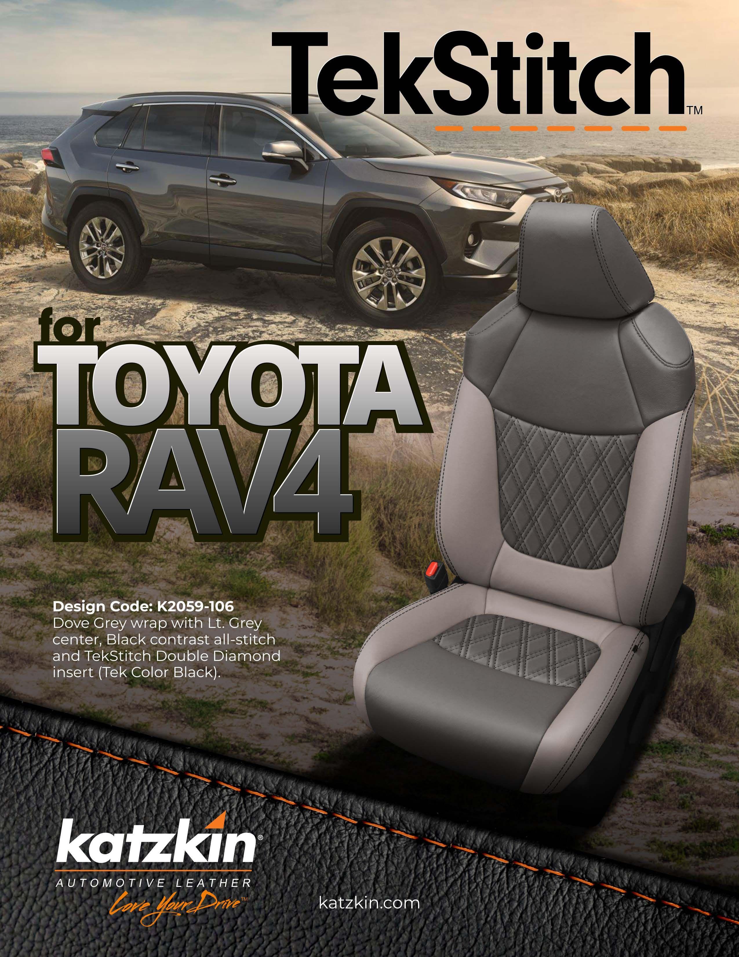 Toyota RAV4 TekStitch (eBrochire)