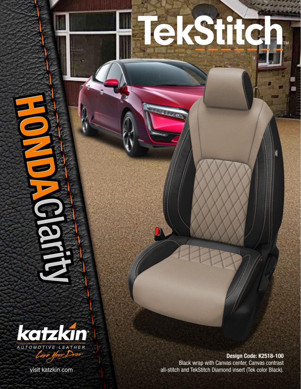 TekStitch Honda Clarity (eBrochure)