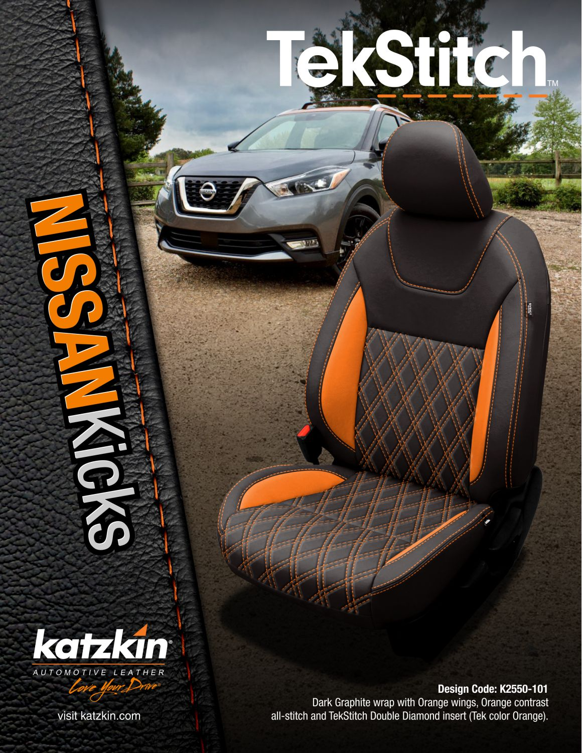 TekStitch Nissan Kicks