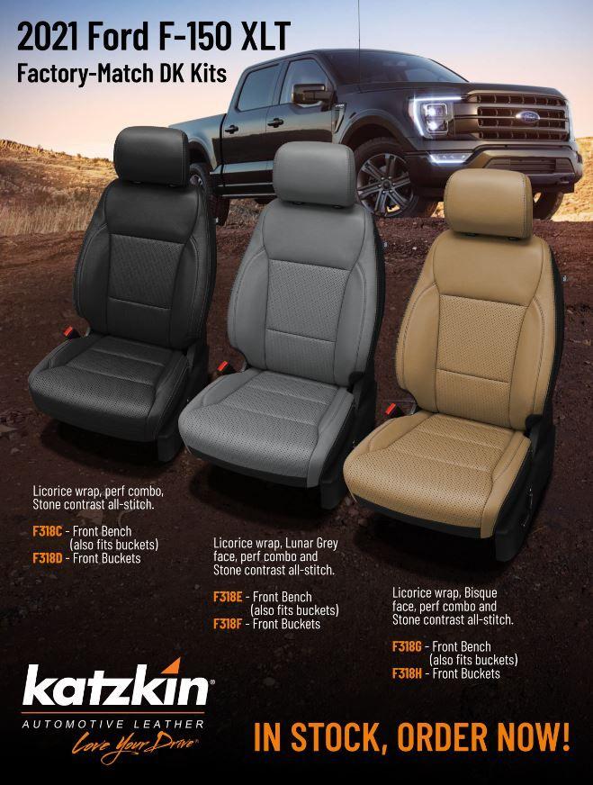 2021 Ford F-150 XLT SuperCrew Stock Kits
